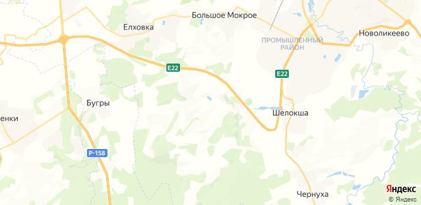 Семеть на карте
