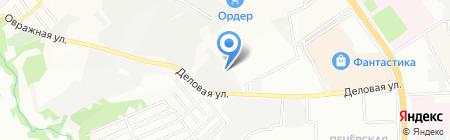 Элита-НН на карте Нижнего Новгорода