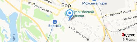 Парикмахер на карте Бора