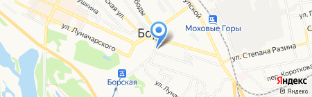 Иво-Люкс на карте Бора