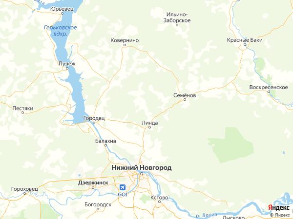 поселок Кресты на карте