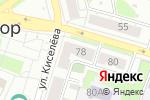 Схема проезда до компании Папа суши в Боре