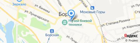 Детский сад №17 на карте Бора