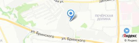Косметический кабинет на ул. Хохлова на карте Нижнего Новгорода