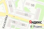 Схема проезда до компании Адвокатская контора Борского района в Боре