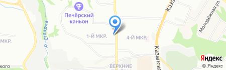 Аптекарь Эвениус на карте Нижнего Новгорода