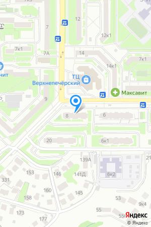 Дом 8 по ул. Богдановича, ЖК Печёрская гряда на Яндекс.Картах