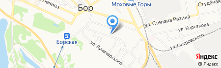 Волго-Вятский банк Сбербанка России на карте Бора