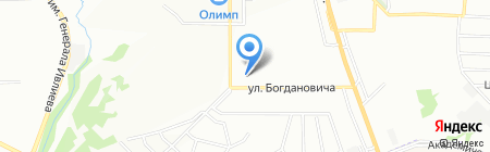 Санторини на карте Нижнего Новгорода