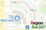 Схема проезда до компании Все для сна в Нижнем Новгороде