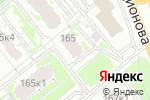 Схема проезда до компании Салон Штор в Нижнем Новгороде