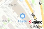 Схема проезда до компании Флёр в Нижнем Новгороде