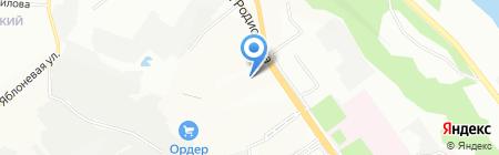 Юнайт на карте Нижнего Новгорода
