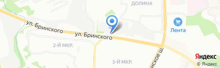 Бета Авто на карте Нижнего Новгорода