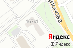 Схема проезда до компании Алинда в Нижнем Новгороде