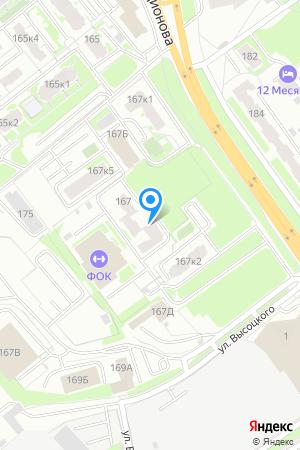 Дом 167 корп.3 по ул. Родионова на Яндекс.Картах