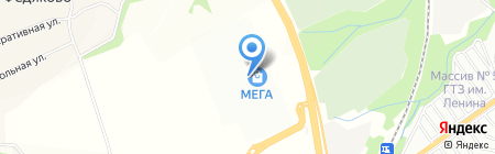 JS selected на карте Федяково