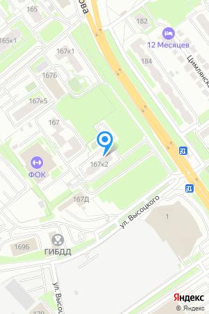 Дом 167 корп.2 по ул. Родионова на Яндекс.Картах