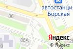 Схема проезда до компании Магазин ритуальных товаров на Октябрьской в Боре