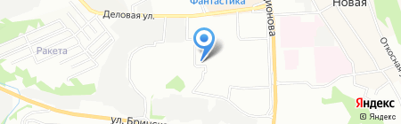 Нортон на карте Нижнего Новгорода