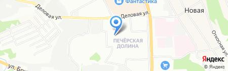 Си.Ти.Дент на карте Нижнего Новгорода