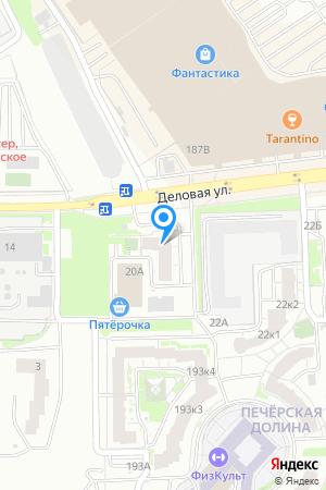 Дом 20 по ул. Деловая, ЖК Печёрская долина на Яндекс.Картах