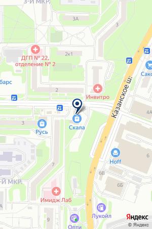 САЛОН ШТОРКА на карте Нижнего Новгорода