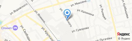 Авангард на карте Бора