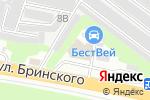 Схема проезда до компании БестВей в Нижнем Новгороде
