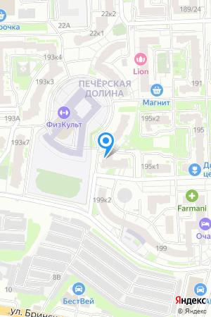Дом 193 корп.1 по ул. Родионова, ЖК Печёрская долина на Яндекс.Картах