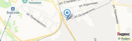 ЛУКОЙЛ-Волганефтепродукт на карте Бора