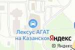 Схема проезда до компании Лексус-Нижний Новгород в Нижнем Новгороде