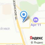 Знатный ткач на карте Нижнего Новгорода