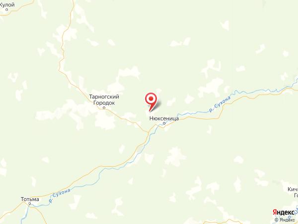 поселок Пожарище на карте