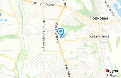 Местоположение на карте пункта техосмотра по адресу г Нижний Новгород, ш Казанское, д 12