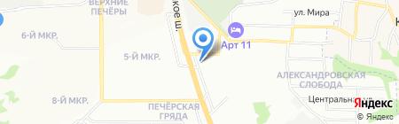 Электросантехцентр на карте Нижнего Новгорода
