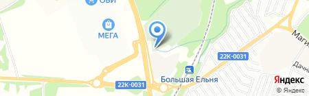 КРУН на карте Нижнего Новгорода