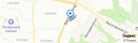 ВЫБОР-НЕДВИЖИМОСТЬ на карте Нижнего Новгорода