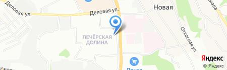 Горячие туры на карте Нижнего Новгорода