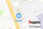Схема проезда до компании Renault в Нижнем Новгороде