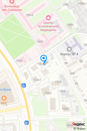 КМ Мегаполис, Родионова ул., 192, корп. 5 на Яндекс.Картах