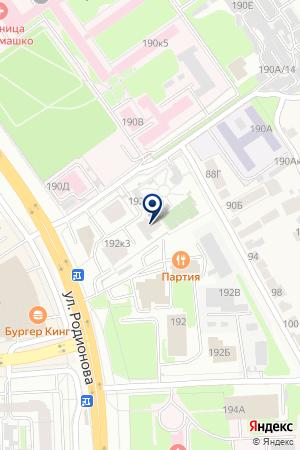РЕДАКЦИЯ ГАЗЕТЫ ПОНЕДЕЛЬНИК на карте Нижнего Новгорода