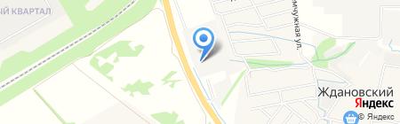 Алиди на карте Нижнего Новгорода