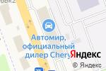Схема проезда до компании Центр-Авто в Нижнем Новгороде