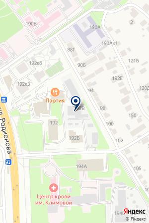 ПРОИЗВОДСТВЕННОЕ ПРЕДПРИЯТИЕ ОКТАВА на карте Нижнего Новгорода