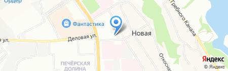 Ставилон на карте Нижнего Новгорода