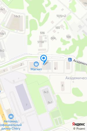 Дом 5 по ул. Академическая, ЖК Новопечерский на Яндекс.Картах