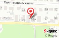 Схема проезда до компании Дикси в Ангеловом