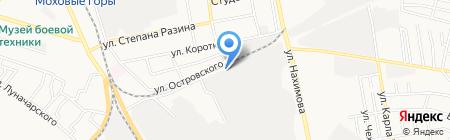 Борский на карте Бора