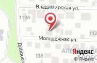 Схема проезда до компании Пожарная часть №71 в Вознесенье